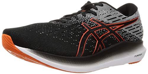 ASICS Men's Evoride 2 Running Shoes, 12.5, Black/Marigold Orange