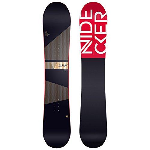 Herren Freestyle Snowboard Nidecker Play 156 2018 Snowboard