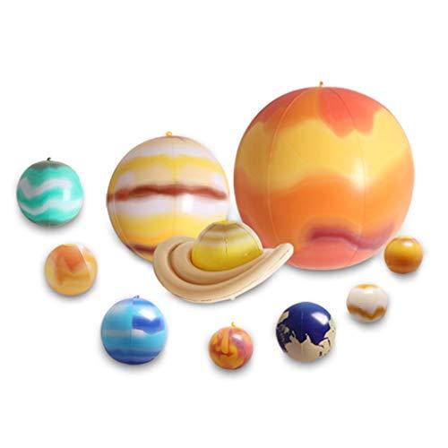 10 PC/Sistema Solar Globo modelo de la enseñanza de niños Globos Blow Up de juguetes inflables Haga divierte en el país