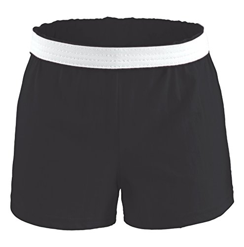 (M037) Soffe Cheer Short Schwarz Adult S (Size 4-6)