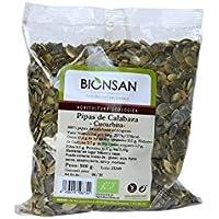 Bionsan Pipas de Calabaza Cucúrbita Ecológica - 2 Bolsas de 500 gr - Total : 1000 gr