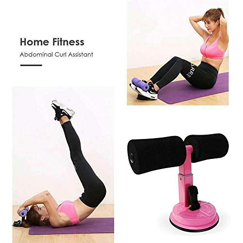 TradeShop - ATTREZZO per Addominali Fitness Ventosa Sport Spugna Caviglie Curl Push UP Sit - 17260