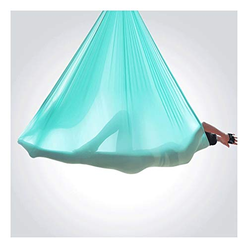 YANFEI Columpio sensorial Set de Swing de Yoga aérea Ultra Fuerte Antigravedad Yoga Hamaca Aérea Trapeze Kit Sling para Antigravity Yoga Inversión Ejercicios Flexibilidad y Fuerza Central mejoradas