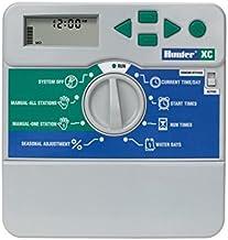 HUNTER XC-801I-E Programador de riego eléctrico Interior, Gris, 25.5x18.5x8.0 cm