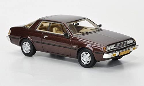 Mitsubishi SappGold MkI Coupe, met.-dkl.-braun, 1982, Modellauto, Fertigmodell, Neo 1 43