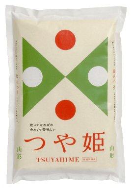 山形県産米「つや姫」 精白米 5kg入り