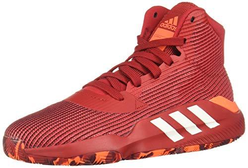 Adidas Pro Bounce 2019, Zapatillas de Baloncesto Hombre, Multicolor (Rojpot/Ftwbla/Narsol 000), 48 EU