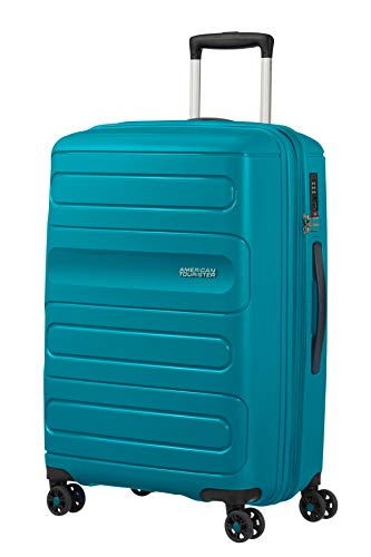 American Tourister Sunside Bagaglio a mano, M (67.5 cm - 83.5L), Turchese (Teal)