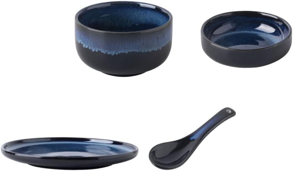 Hemoton Ceramic Tableware Set Kitchen Dinnerware Direct store Sets Inventory cleanup selling sale Porcelain