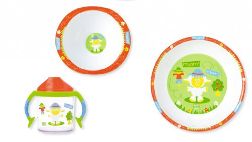 Saro 5020 - Vajilla 3 piezas melami