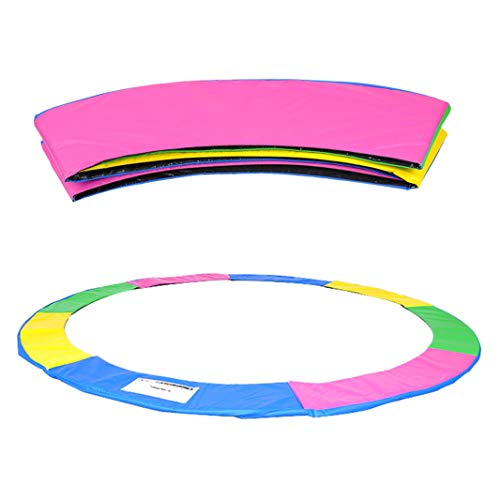ULTRAPOWER SPORTS Trampoline Replacement Safety Pad Spring Cover - Universal Fits for 14ft, Multicolor