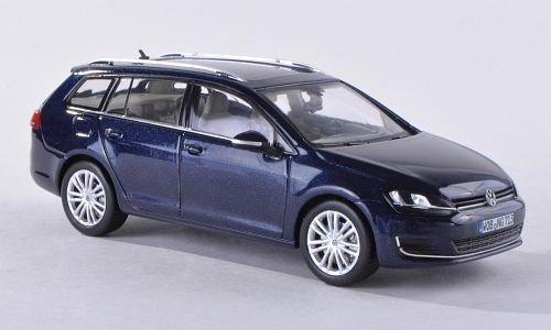 VW Golf VII Variant, metallic-dunkelblau, 2013, Modellauto, Fertigmodell, Herpa 1:43