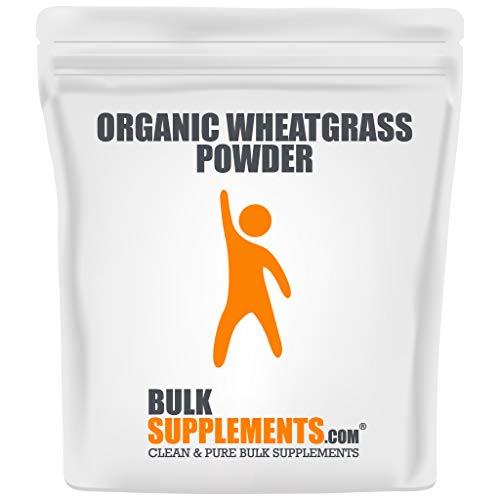 BulkSupplements.com Organic Wheat Grass Powder - Superfoods Powder - Organic Greens Powder Superfood - Organic Wheatgrass Juice Powder (1 Kilogram)