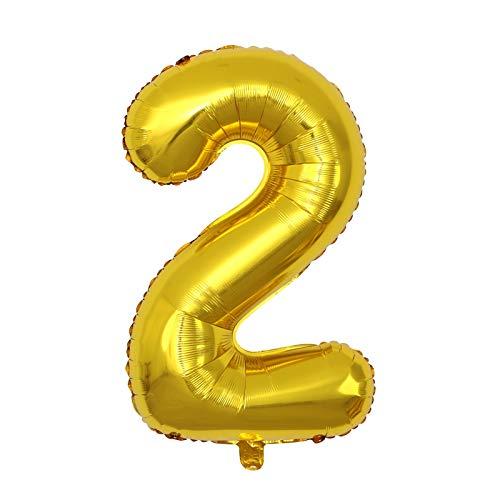 Hunpta Globos de cumpleaños de oro rosa autoinflables para niñas, niños, mujeres, hombres, decoraciones de fiesta de cumpleaños con globo de confeti, globos de fiesta de cumpleaños (2)