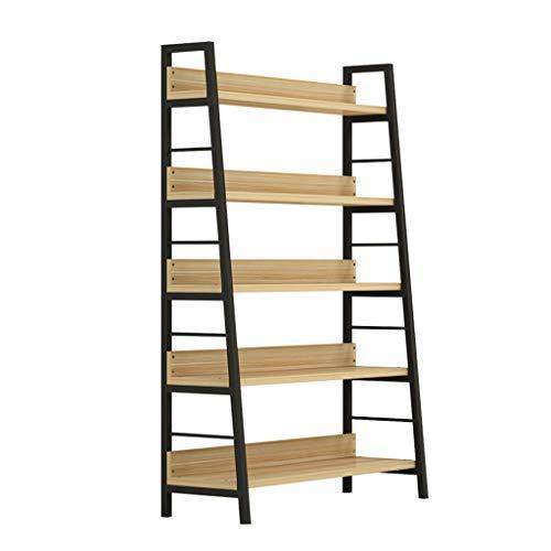 OCYE Metal storage shelves, display shelves, space-saving shelves, galvanized, steel frame, bathroom, living room, hallway