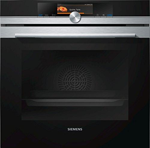 Siemens HB678GBS6 iQ700 Einbau-Elektro-Backofen / Edelstahl / A+ / WLAN-fähig mit Home Connect / activeClean Selbstreinigungs-Automatik / coolStart-kein Vorheizen / cookControl Plus