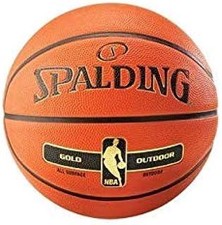 Spalding NBA Gold Series Outdoor Basketball, 7 Size