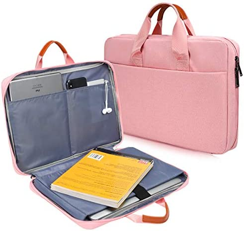 CaseBuy 180 freely Open Laptop Briefcase Bag for HP Pavilion x360 14 Lenovo IdeaPad 14 Dell product image