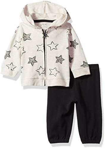 Little Me Baby Boy s Cardigan Set Shirt Black Newborn product image