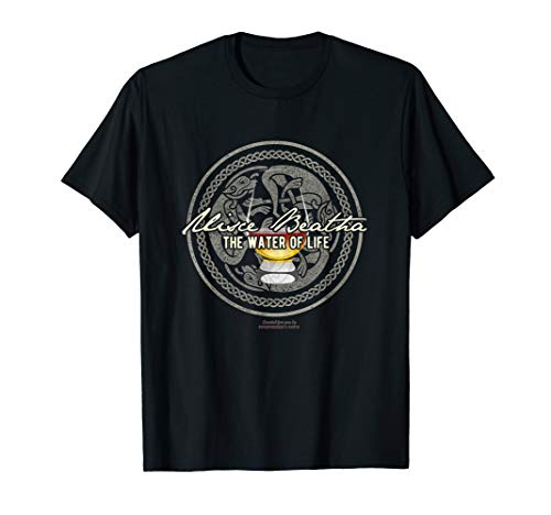 Uisce Beatha Whisky Design T-Shirt