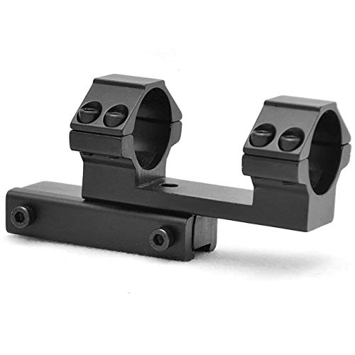 360 TACTICAL 30mm Extended Offset One Piece Scope Dovetail Mount Ring fit 3/8 Inch 11mm Rail Heavy Duty Mount Ring (Without Spacer)