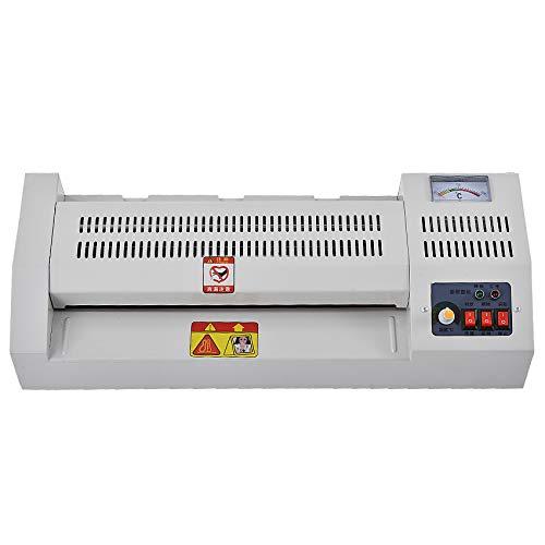 FAY Thermische Laminiermaschine, Laminiermaschine mit Vier-Walzen-System, schnelles Aufwärmen, konstante Temperaturregelung, heißer und kalter Modus, für Home-Office-Schulen