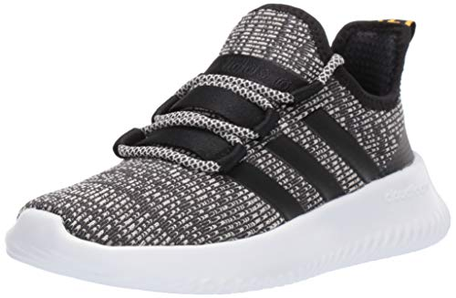 adidas Kids Unisex's Ultimafuture Running Shoe, Grey/Black/raw White, 2 M US Little Kid