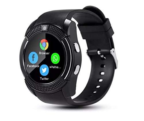 Relógio Inteligente Chip Cartão Camera Smartwatch V8