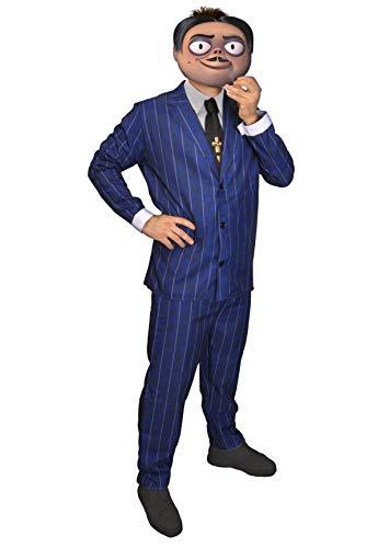 Ciao-Costume Gomez Addams Family, taglia unica Uomo, Blu, 11141