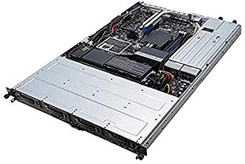 Portátil ASUS RS300-E10-RS4 Intel C242 LGA 1151 (Zócalo H4) Bastidor (1U) Negro, Metálico