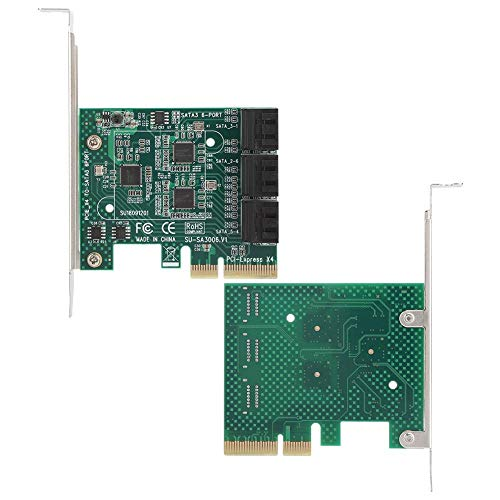 Annadue Expansion Card, Thicken Gold Fingers PCI-E Expansion Card, 4U and 2U Double Fixed Brackets for MAC/NAS/Linux XP/2003/Vista/win7/win8
