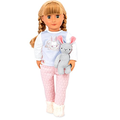 Our Generation by Battat- Jovie 18' Regular Non-Posable Pajama Fashion Doll- for Ages 3 & Up