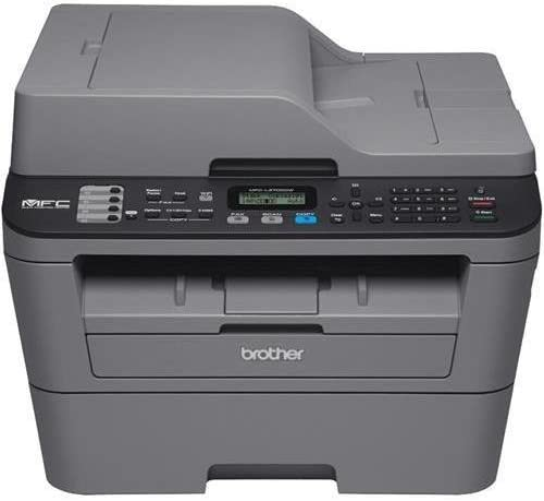 Brother MFC-L2700DW Laser Multifunction Printer - Monochrome - Plain Paper Print - Desktop - Copier/Fax/Printer/Scanner - 27 ppm Mono Print - 2400 x 600 dpi Print - 27 cpm Mono Copy LCD - 600 dpi Optical Scan - Automatic Duplex Print - 251 sheets Input -