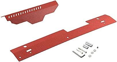 Aluminum Radiator Shroud & Pulley Belt Cover Combo Compatible For Subaru WRX & STi 2002-2007