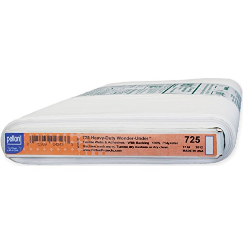 Pellon Wonder Under Fusible Web Heavy Duty, 17-Inch by 25-Yard