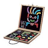 DJECO- Calendarios de Adviento Imanes Y Juguetes Magnéticos, Multicolor (DJ03136) , color/modelo surtido