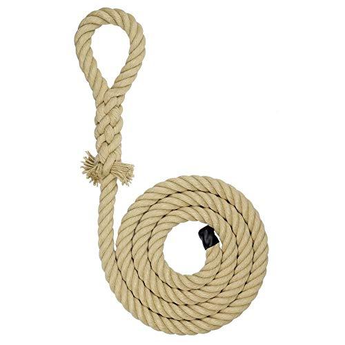 Kanirope® Kletterseil KID mit Augspleiß verschiedene Längen Klettertau Seil Baumhaus und Spielturm Schaukelseil Spielplatz (2,5 Meter)