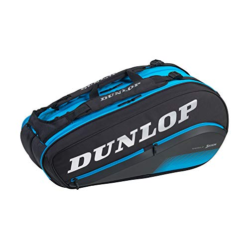 Dunlop Sports FX Performance 8 - Bolsa para Raqueta, Color Azul y Negro