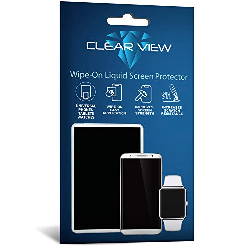 ClearView Liquid Glass Screen Protector for All Smartphones Tablets and Watches