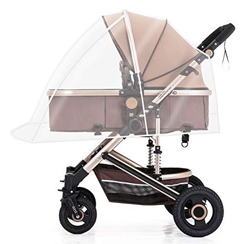 CTEGOOD Protector de Lluvia Universal para Silla de Paseo, Cubierta Lluvia Cochecito, Adecuado para el 99% de los Modelos para bebés del Mercado