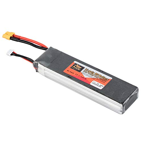 ZOP Power 11.1V 5000mAh 60C 3S 1P Batería Lipo XT60 Enchufe recargable...