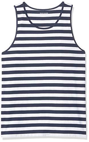 Amazon Essentials Regular-fit Stripe Tank Top Hombre