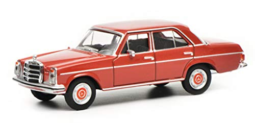 Schuco 452017800 MB /8, dunkel1 452017800-MB /8, dunkelrot 1:64, Modellauto, Modellfahrzeug, rot