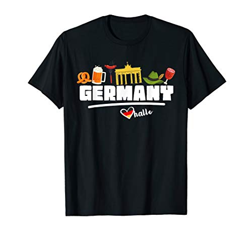 I Love Germany T-Shirt Deutschland Travel Gifts For Men