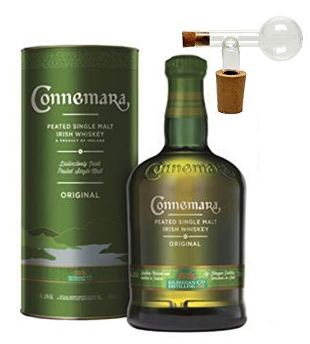 Connemara Original peated irischer Single Malt Whiskey +1 Glaskugelportionierer