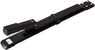 Deli e0334 25 Sheet Long Arm Metal Stapler - Black