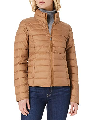 Only ONLNEWTAHOE Quilted Jacket CC Otw Steppjacke, Toasted Coconut/Detail:DTM Lining, S Donna