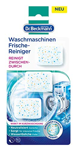 Dr. Beckmann Waschmaschinen Frische-Reiniger Caps (3 x 20 g)