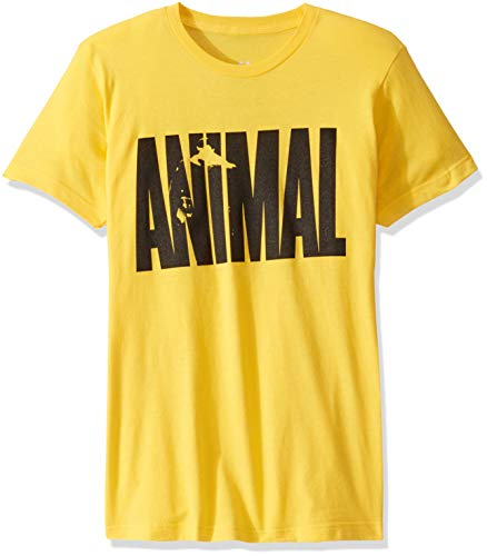Animal Herren Iconic T-Shirt, gelb, Mittel