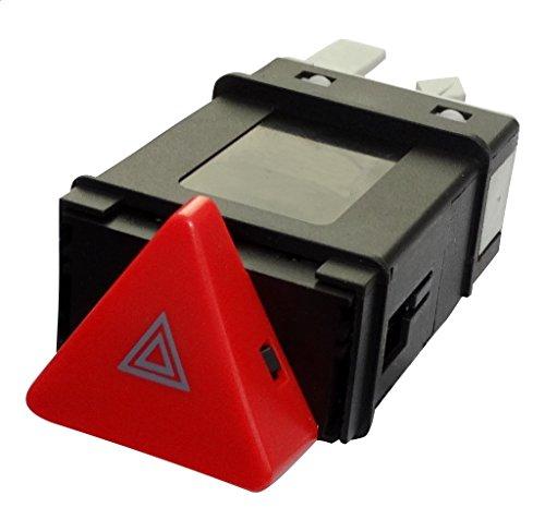 AERZETIX: Interruptor Boton para Luces de Emergencia C40188 Compatible con 6N0953235/B